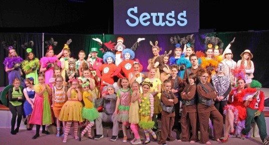 Seussical Jr. at FCA (2016)