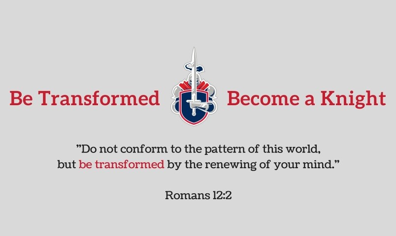Be Transformed - Be a Knight!