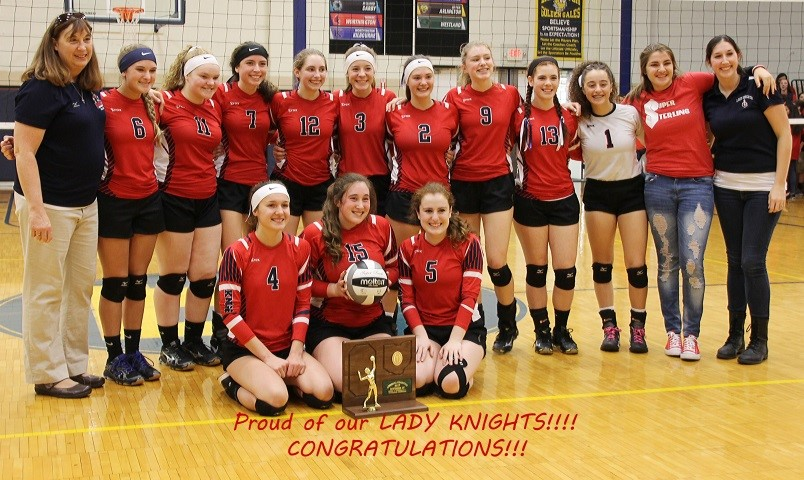 FCA Volleyball - Regional Champs