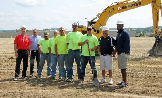 Athletic Complex Ground Breaking