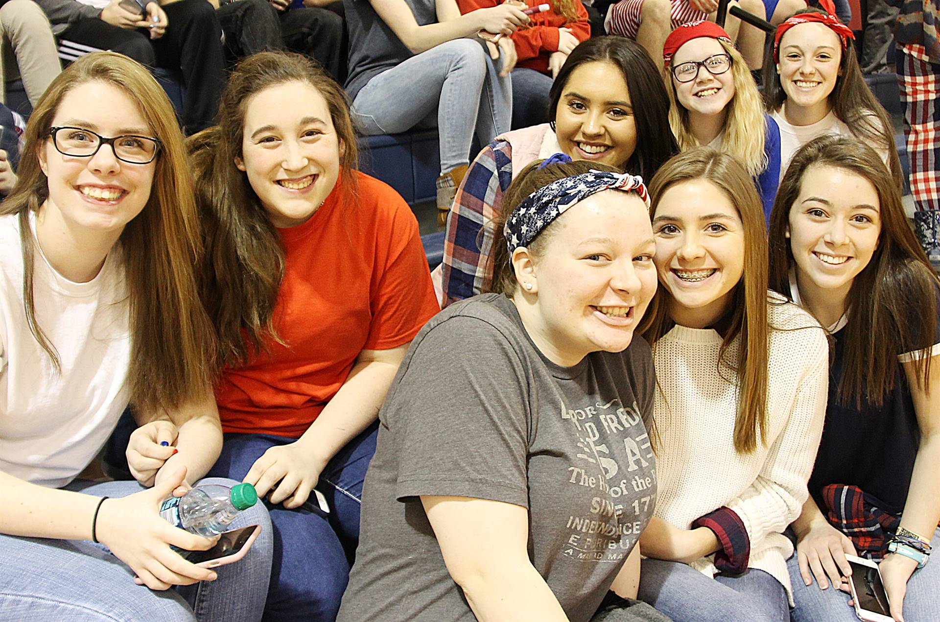 HS Girls at the Game
