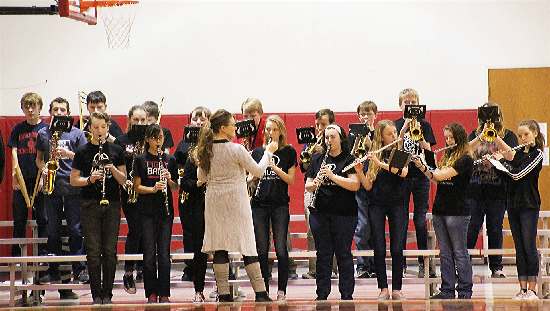 FCA Pep Band Performing