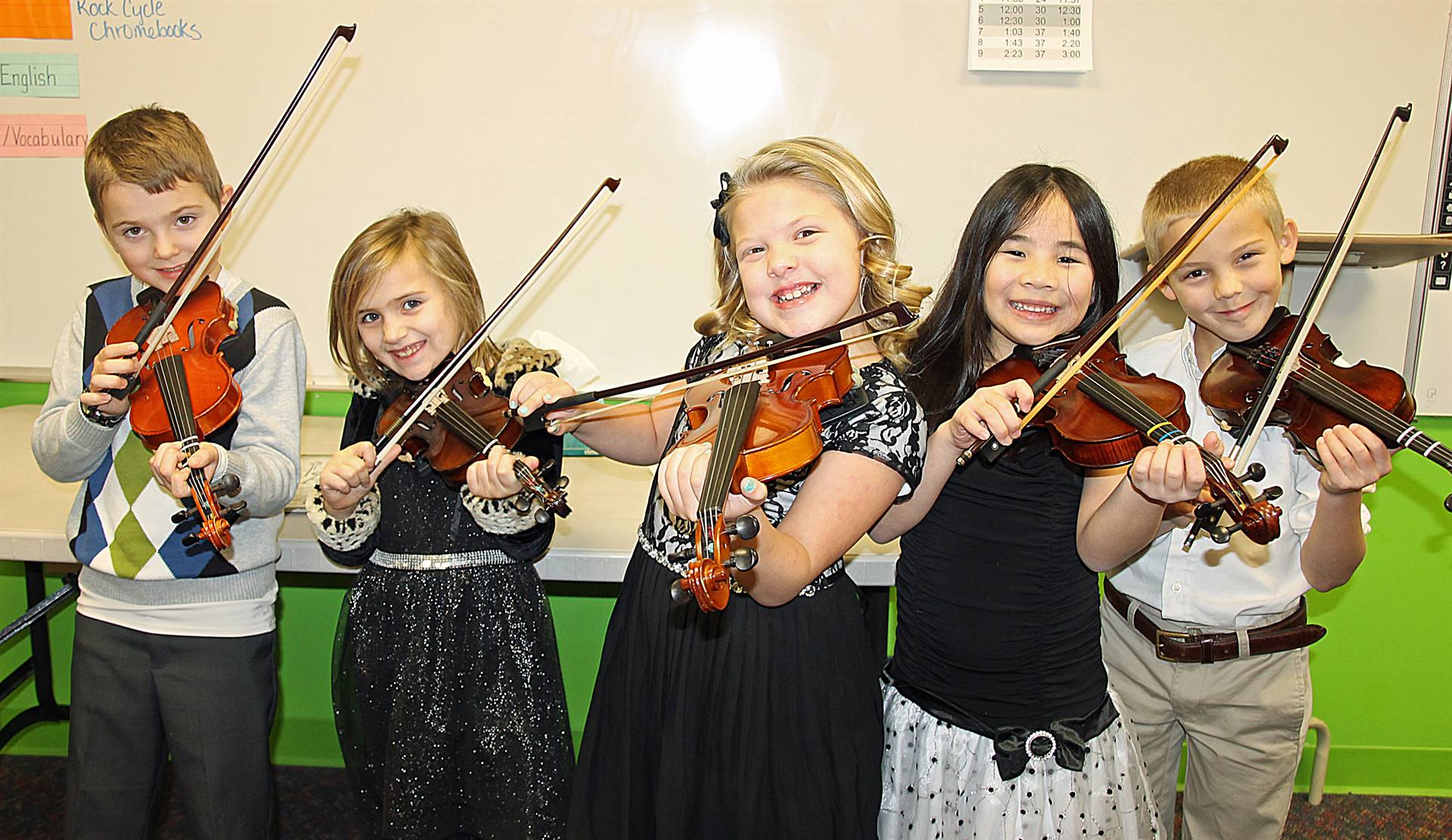 FCA Strings Students