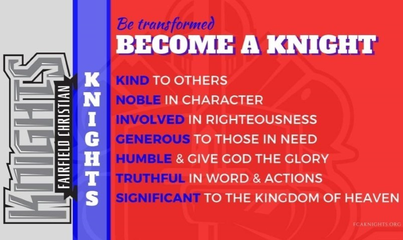 Become a Knight Poster