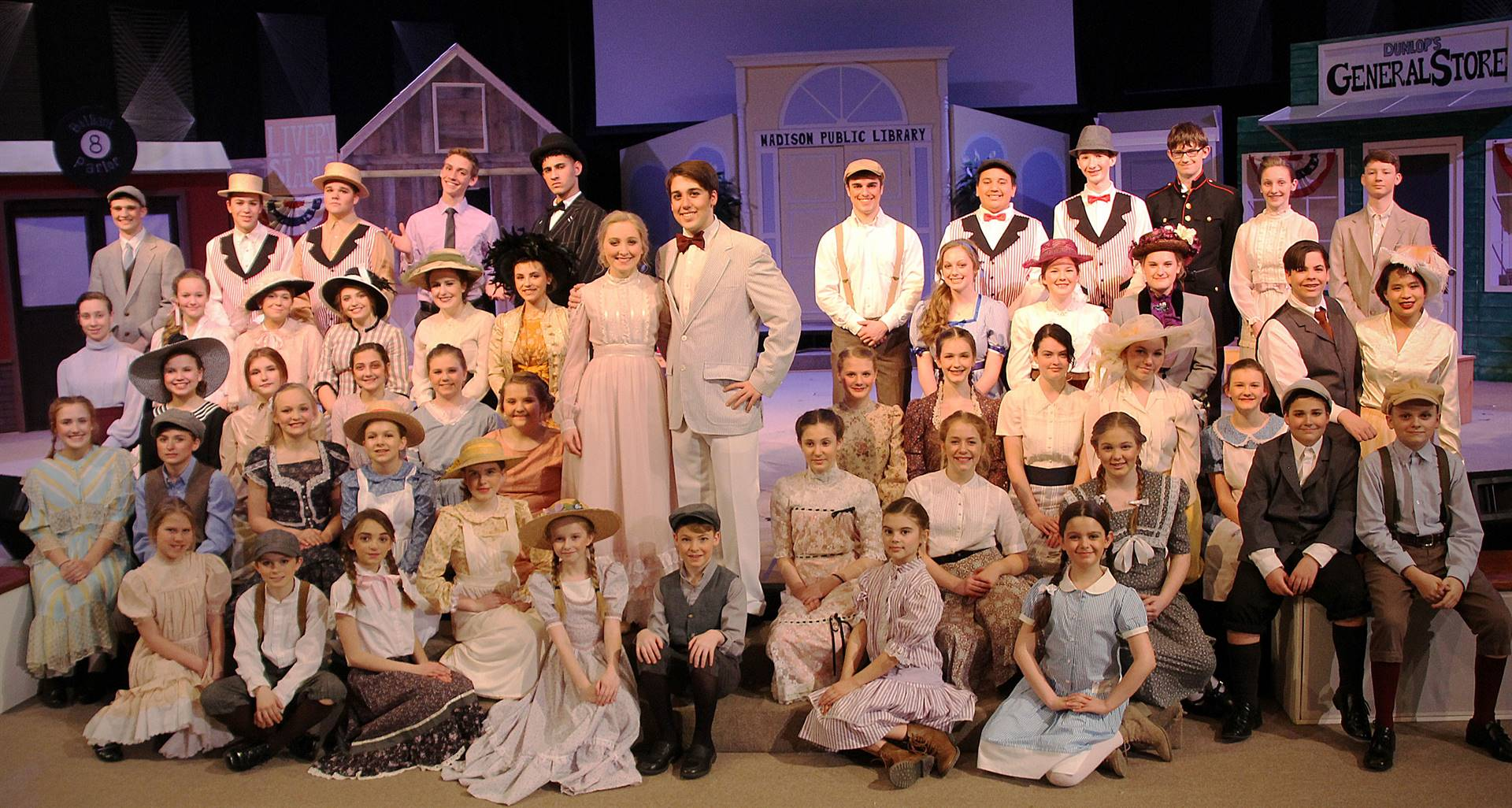 The Music Man Full Cast