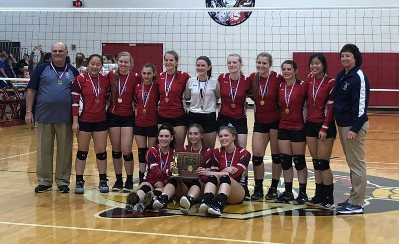 Volleyball District Champs 2019