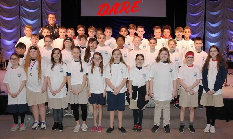 FCA 5th Grade DARE Graduates