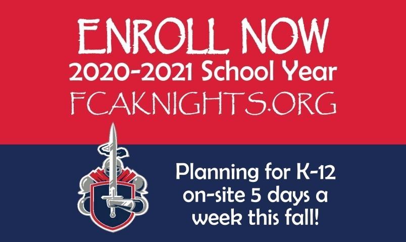 Enroll Now! 2020-2021