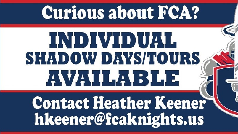 Shadow Day or Tours Available