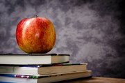 Apple and Books Image