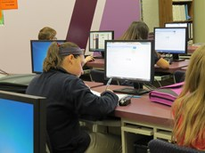 FCA Computer Lab in Use