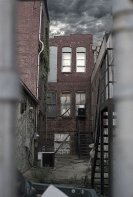 Artistic Photo of Back Alley