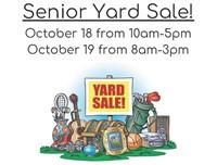 Senior Class Garage Sale