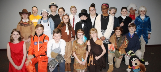 5th Grade Wax Museum 2018 Participants