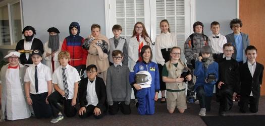 5th Grade Wax Museum 2019 Participants