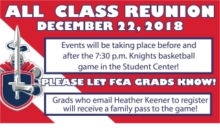 All-Class Reunion Announcement