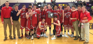 2018 Boys Basketball - District Champions