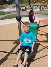 Student On FCA Playground