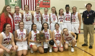 Girls Basketball - 2018 District Champs