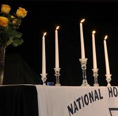National Honor Society Table