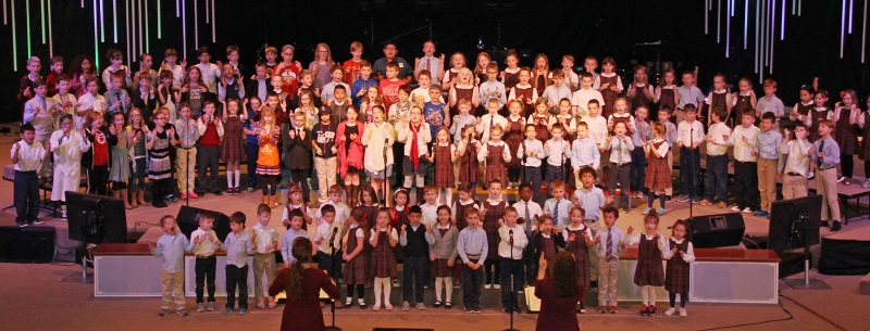 K-4 Vocal Music on Stage