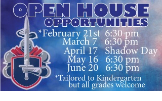 Open House 2019 Schedule